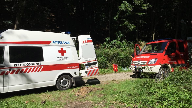 Person in Notlage – Dambachgraben