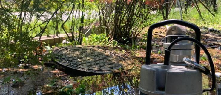 Technischer Einsatz nach Wasserrohrbruch