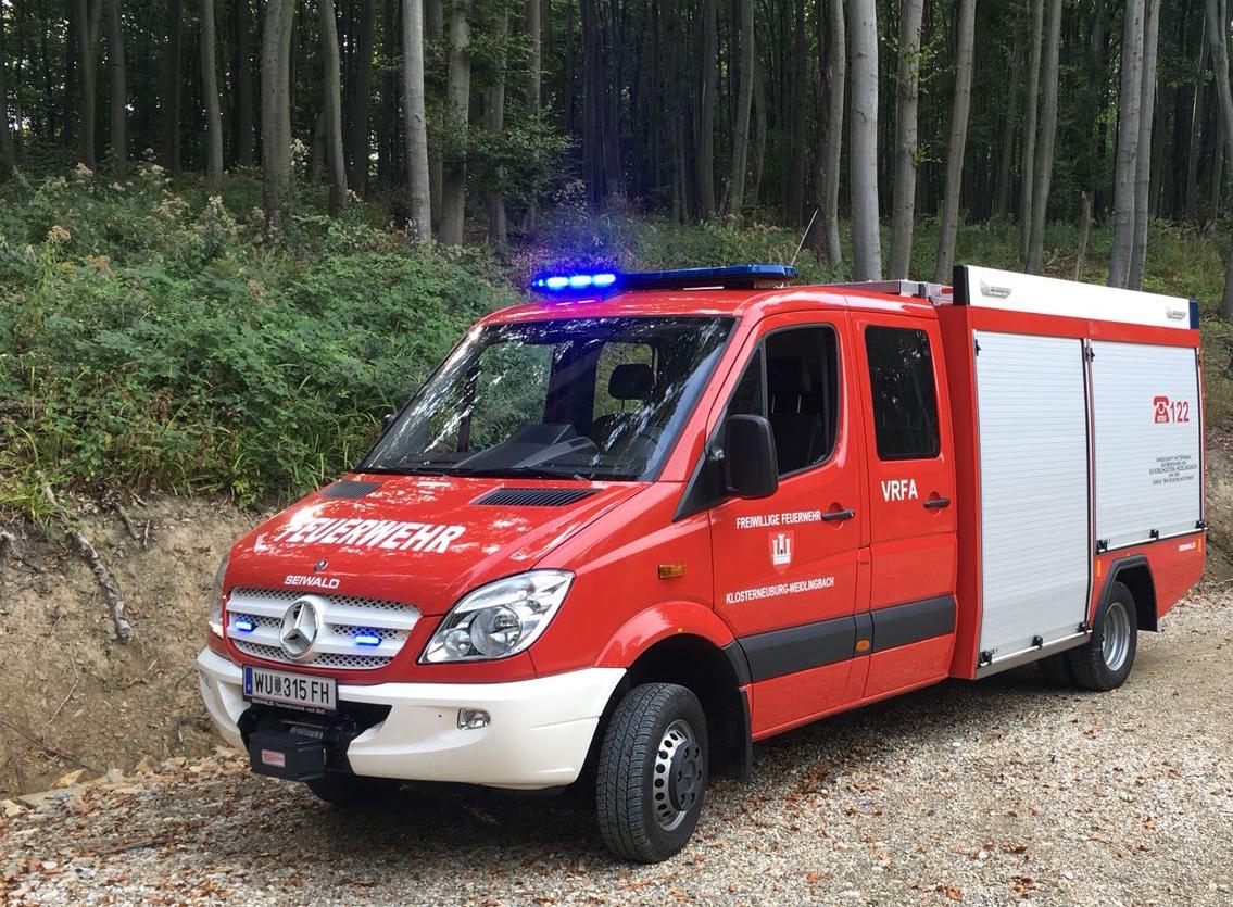Technische Hilfeleistung – Mountainbiketrail Weidlingbach